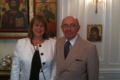 Debra Ruh and Ambassador Luis Gallegos