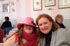 Sara Ruh and Mary Smith at Tea (this is turned sideways – hopefully you can right it – if not no biggie)