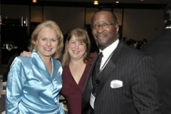 Debra Ruh, Tammy McNaughton and John Evans of IBM at the USBLN Conference