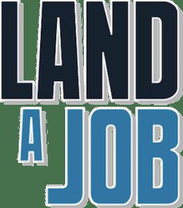 Image of Land A Job Logo