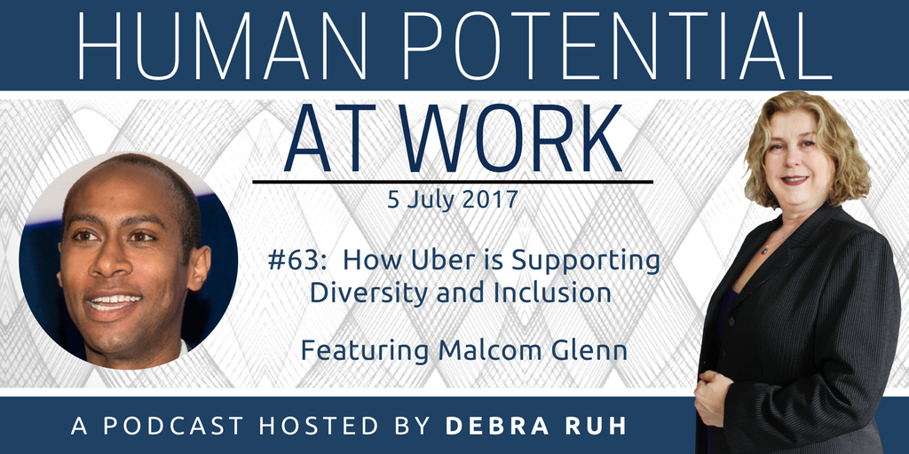 Episode Flyer for #63: How Uber is Supporting Diversity and Inclusion
