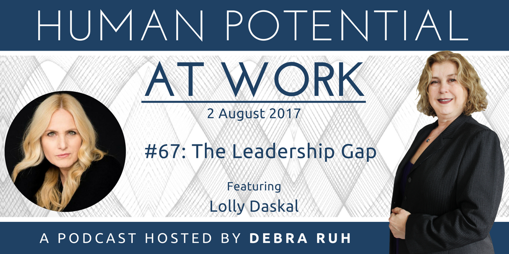 Episode Flyer for #67: The Leadership Gap