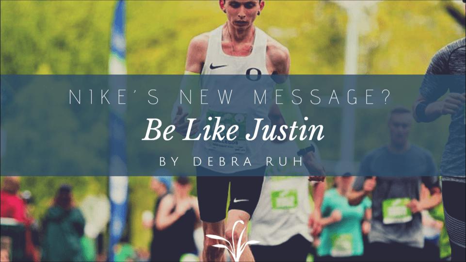 Be like Justin. By Debra Ruh